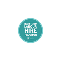 Registered Labour Hire Provider - Queensland Government logo